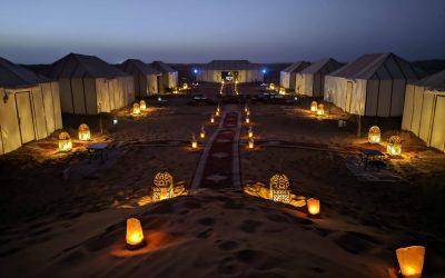 Marruecos : Dormir en el desierto de Erg Chebbi